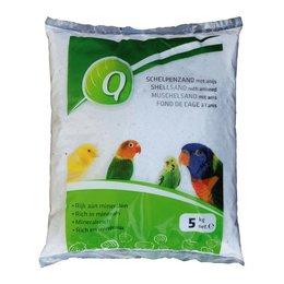 Elja Q-Fond de Cage blanc (5 kg)