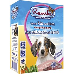 Renske Puppy Chicken and Lamb (10 x 395 gr)