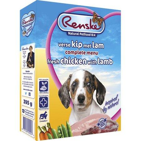 Renske Puppy Huhn und Lamm (10 x 395 gr)