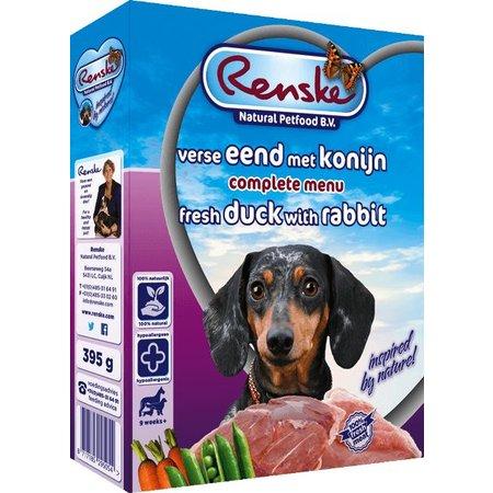 Renske Senior Eend en Konijn (10 x 395 gr)