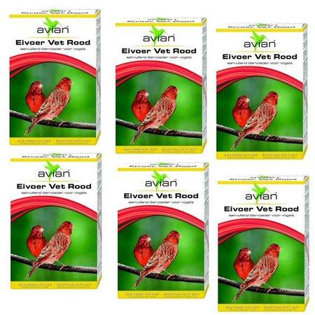 Avian Eifutter Rot mit Honig