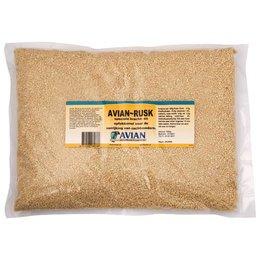 Rusk rearing grain