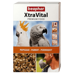 Beaphar Aanbieding XtraVital Papegaai (4 x 1 kg)