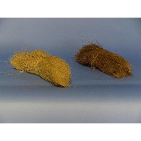 Kokosfaser gebündelt Braun / Weiß