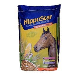 HippoStar Kruidenmuesli zonder haver (15 kg)