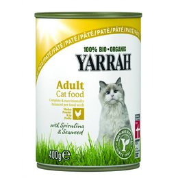 Yarrah Pate Chicken with Spirulina and Seaweed (12 x 400g)