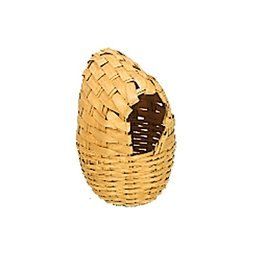 Nobby Litter basket woven with coconut