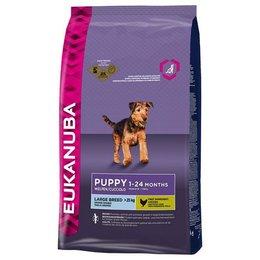 Eukanuba Puppy grandes races pour chiot (15 kg)