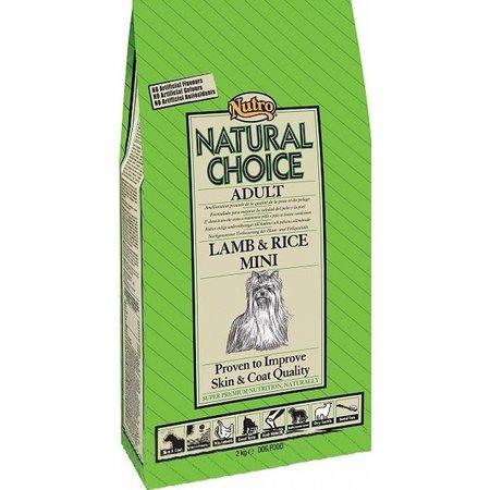 Natural Choice Adult Mini Lam & Rijst