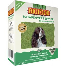 Biofood Grasse de mouton aux algues marines petit (80 pcs)