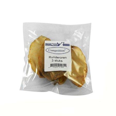 Competition Runderoren 80 gram (3 stuks)
