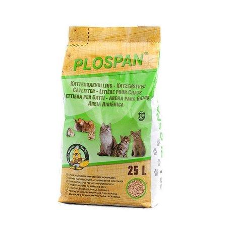Plospan Granulé pour litière pour Rongeurs (25 ltr)