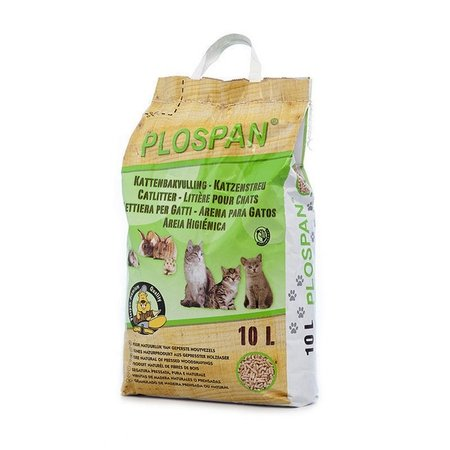 Plospan Granulé pour litière pour Rongeurs (10 ltr)