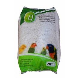 Elja Q-Fond de Cage blanc (20 kg)