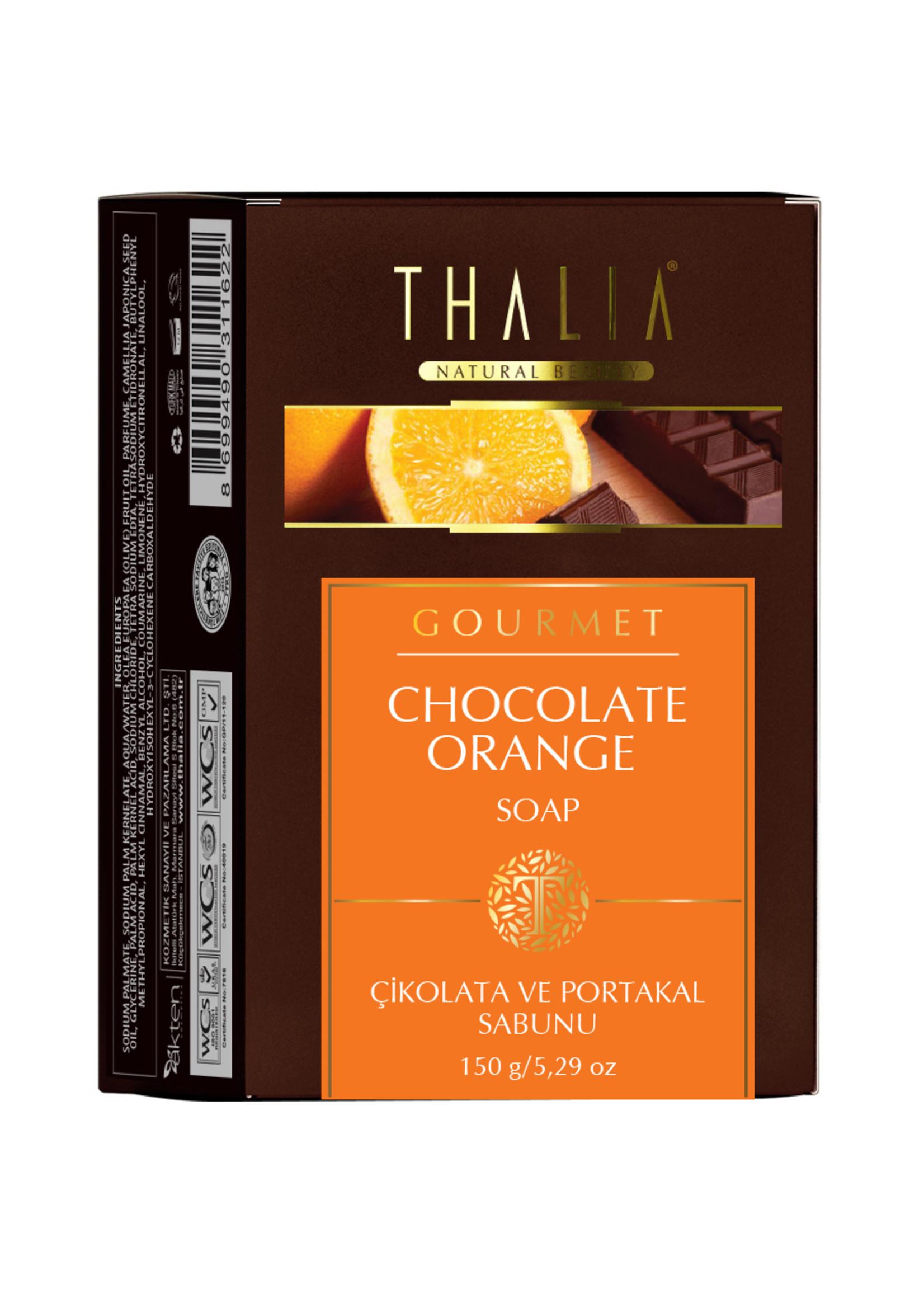Thalia Chocolade en Sinaasappel Zeep 150 gr