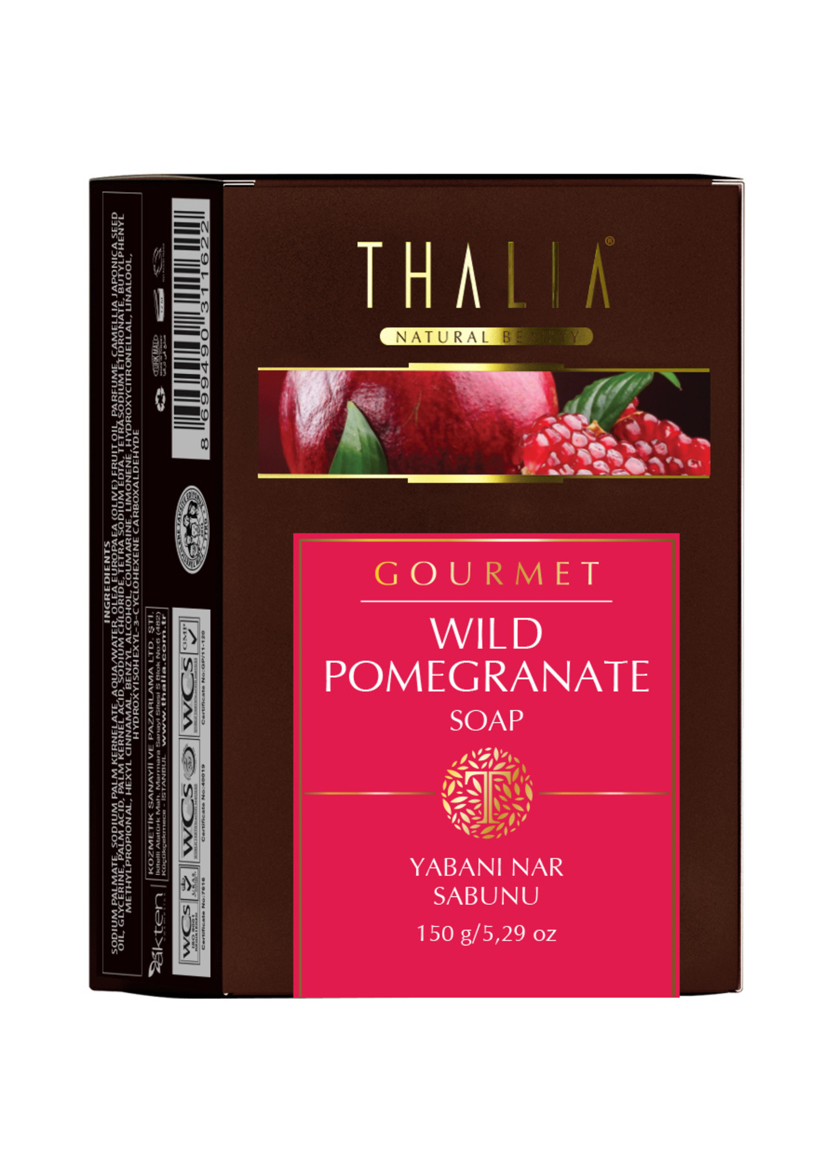 Thalia Granaatappel Zeep 150 gr