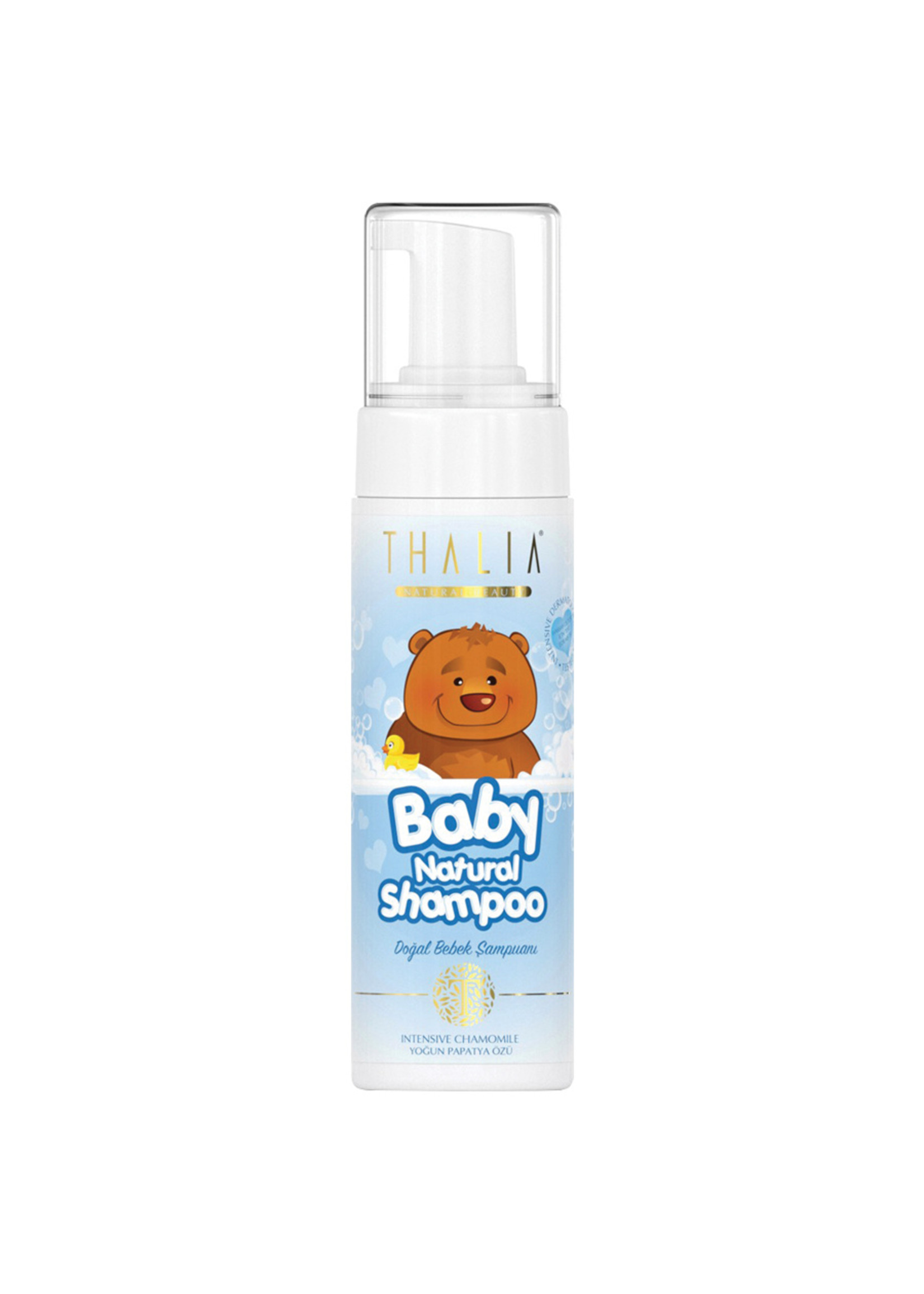 Thalia Natuurlijke Baby Shampoo Blauw 200 ml