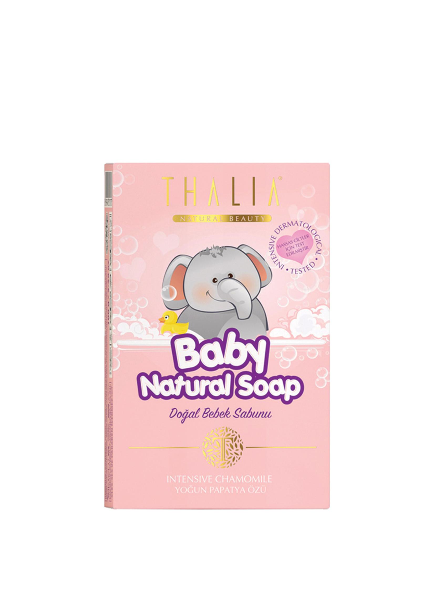 Thalia Natuurlijke Baby Zeep Roze 100 gr