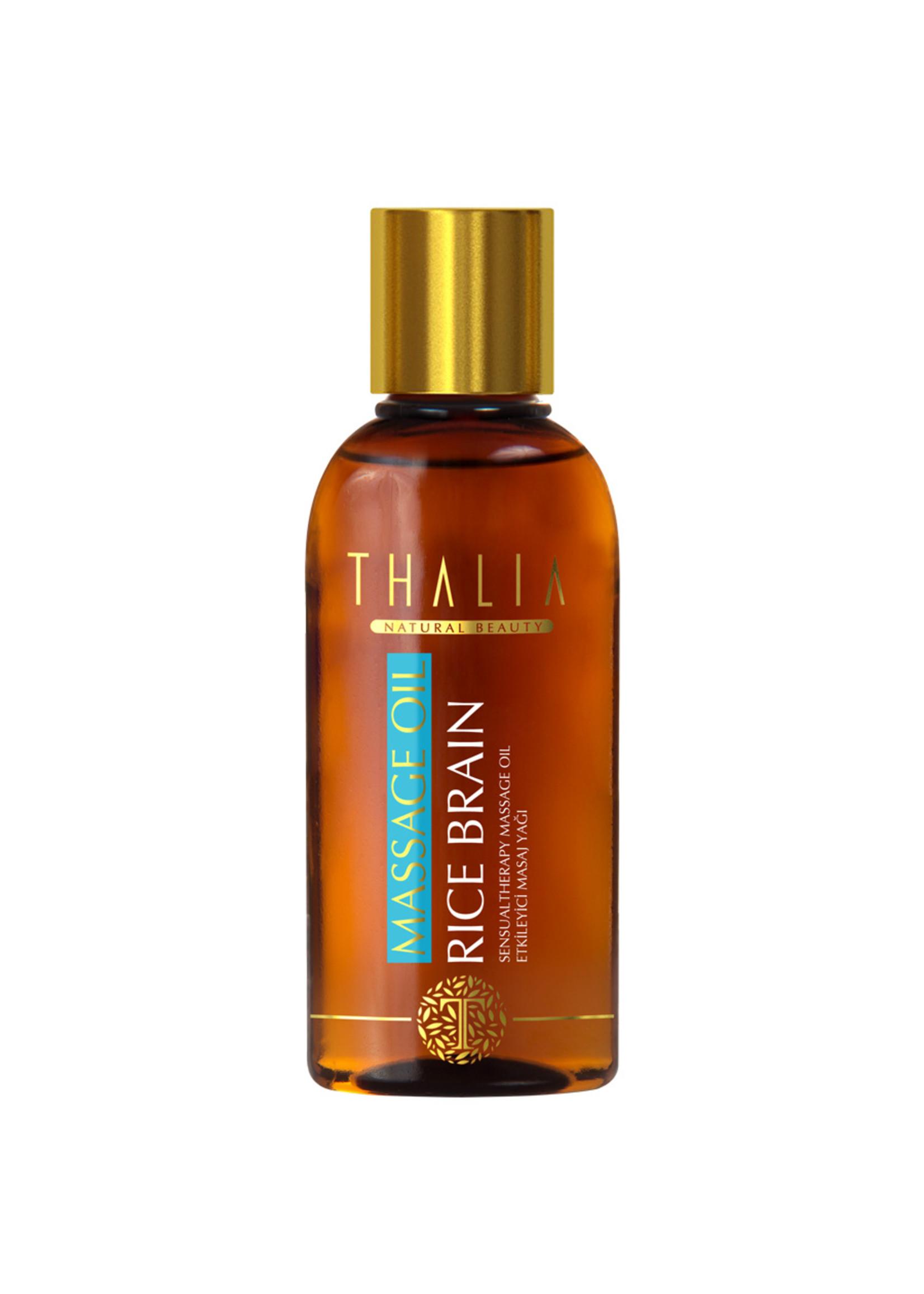 Thalia Rijst Zemelen Massage Olie 150 ml