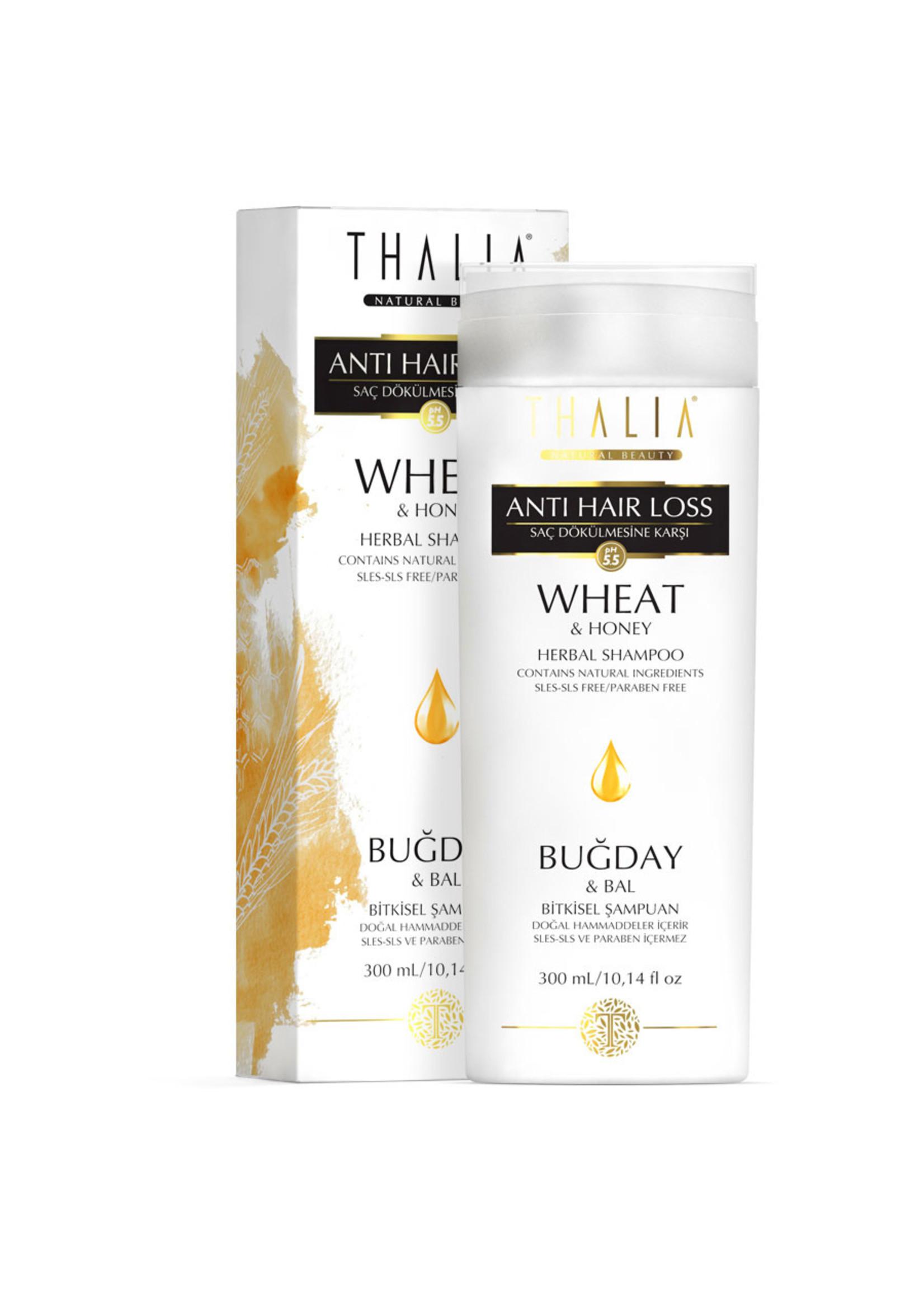 Thalia Saç Dökülmesine Karşı Etkili Buğday ve Bal Özlü Şampuan - 300 ml