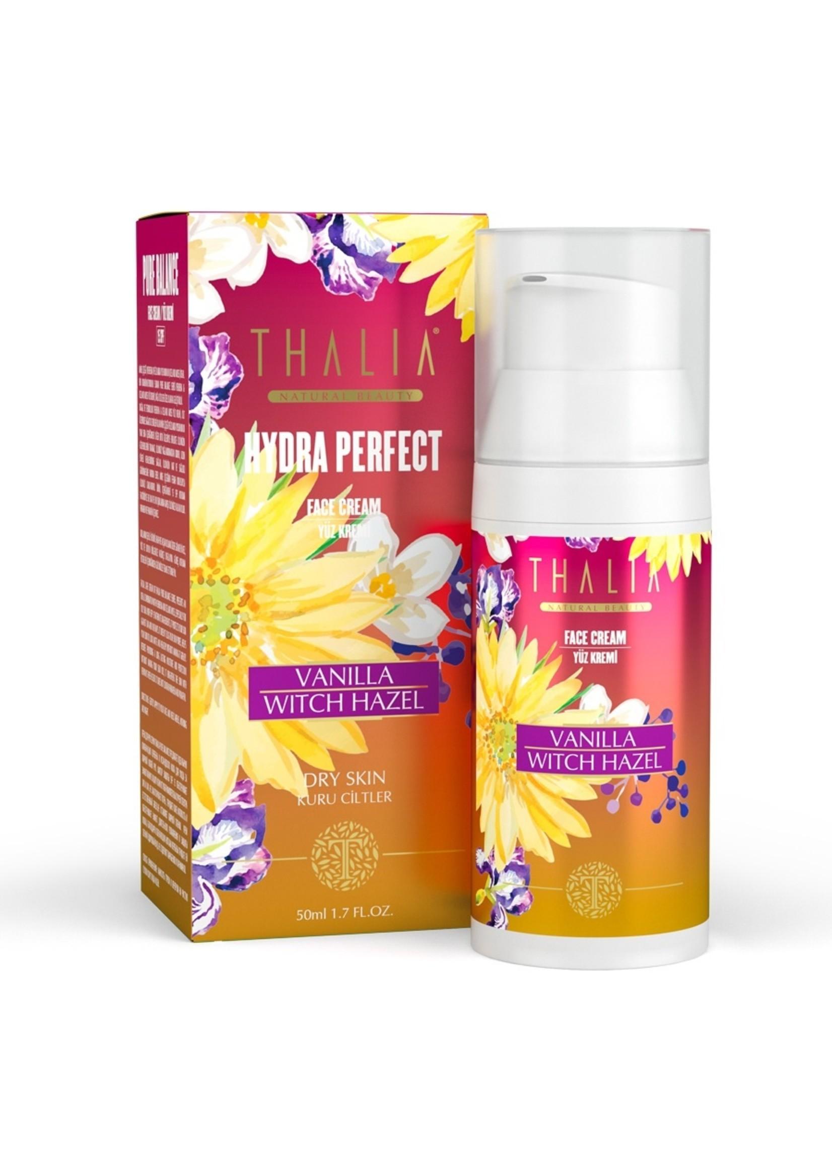 Thalia Vanille en Toverhazelaar Gezichtscrème (SPF 15) 50 ml
