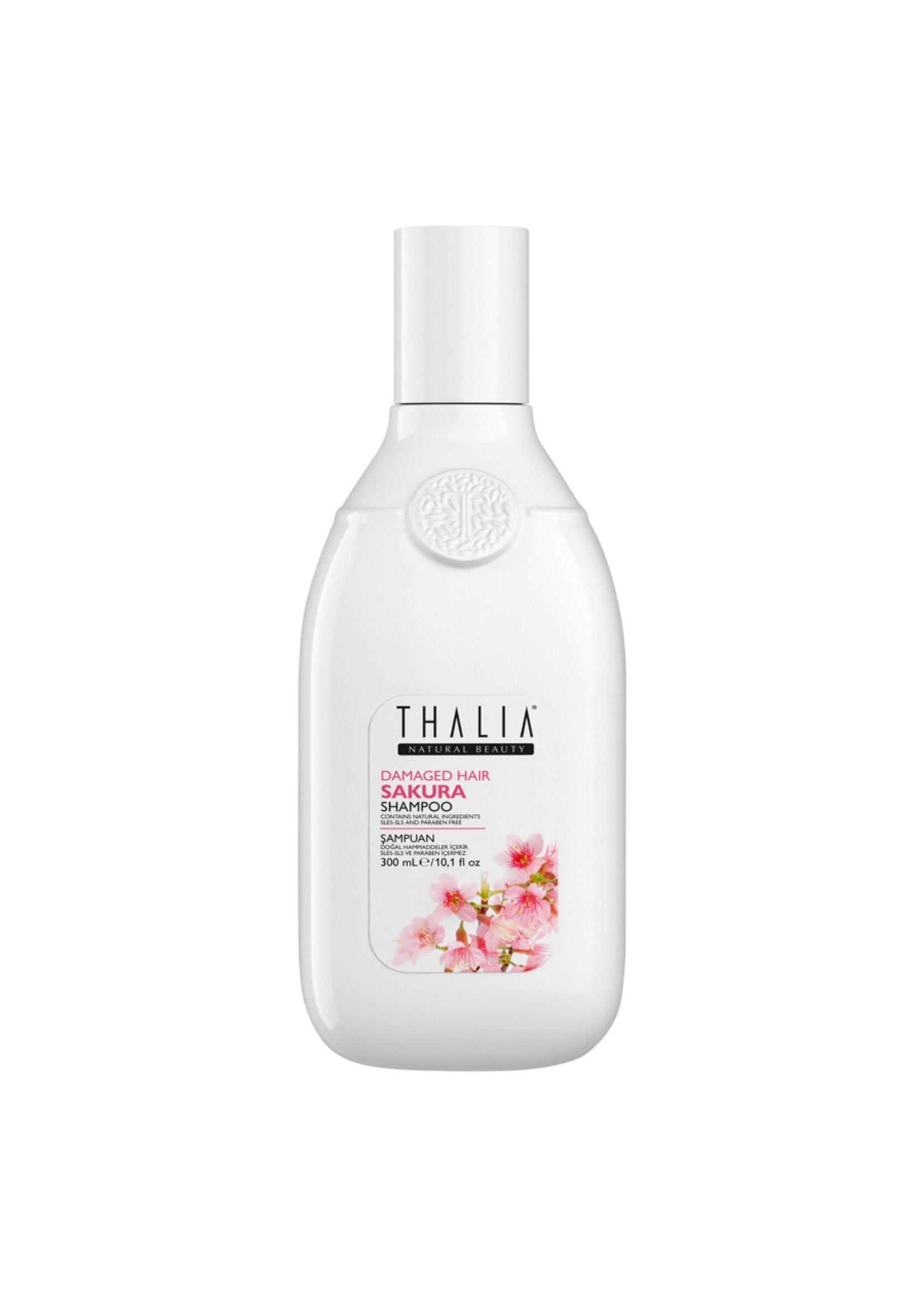 Thalia Sakura Özlü Yıpranma Karşıtı Bakım Şampuan - 300 ml