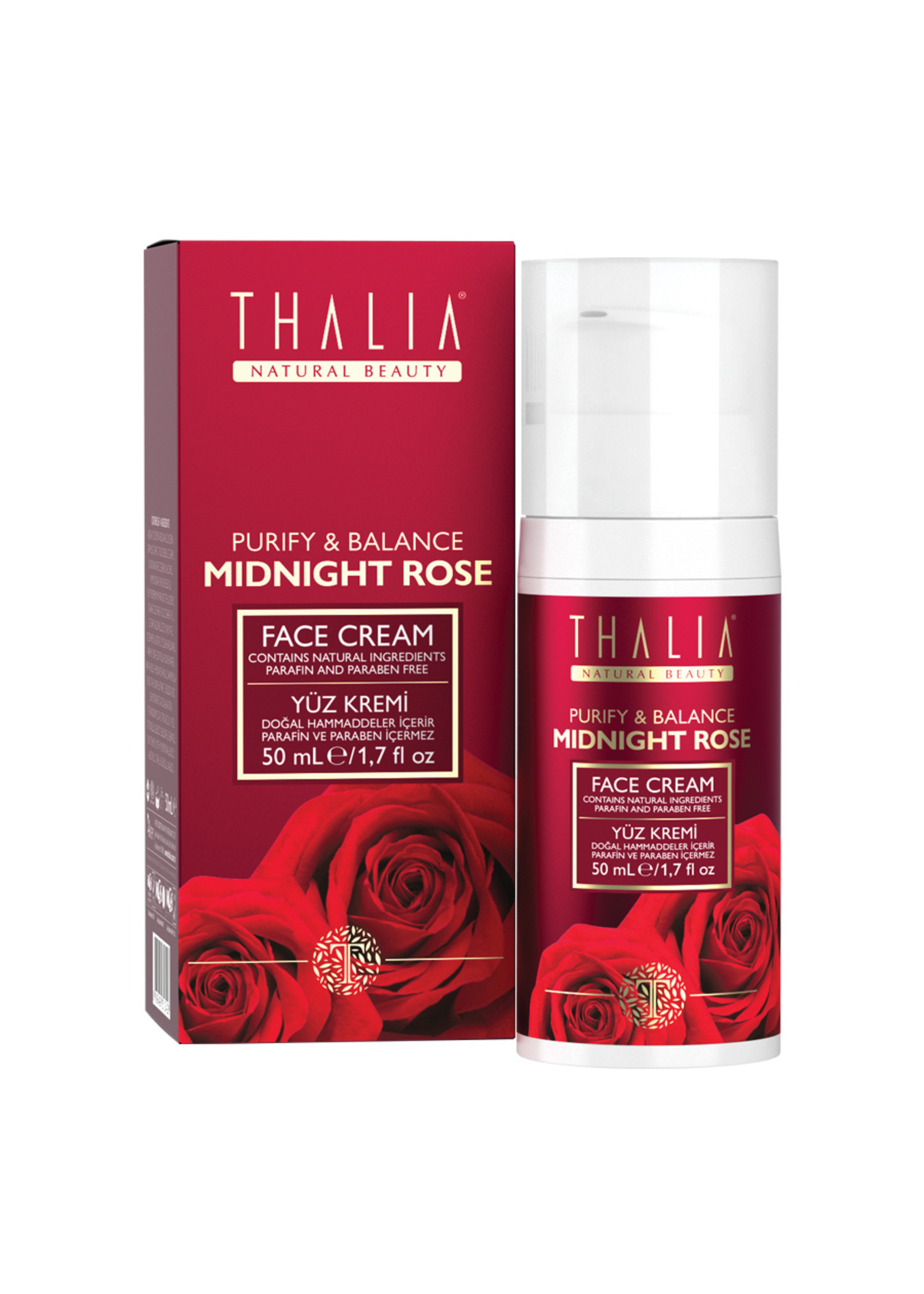 Thalia Rozen Gezichtscreme 50 ml