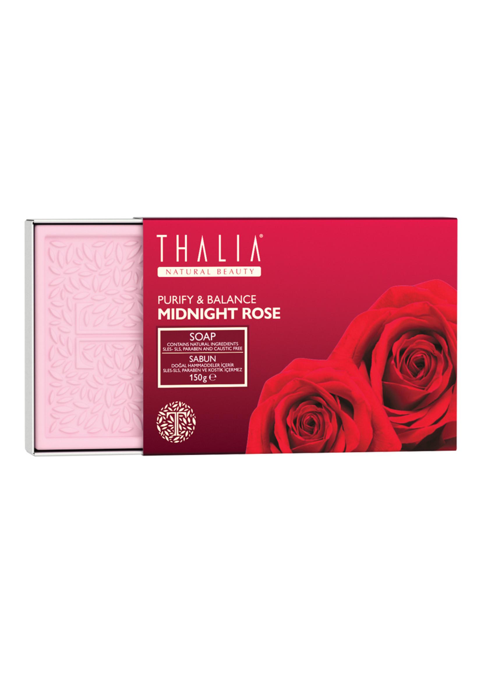 Thalia Midnight Rose (Gülsuyu) Özlü Doğal Katı Sabun – 75 gr x 2
