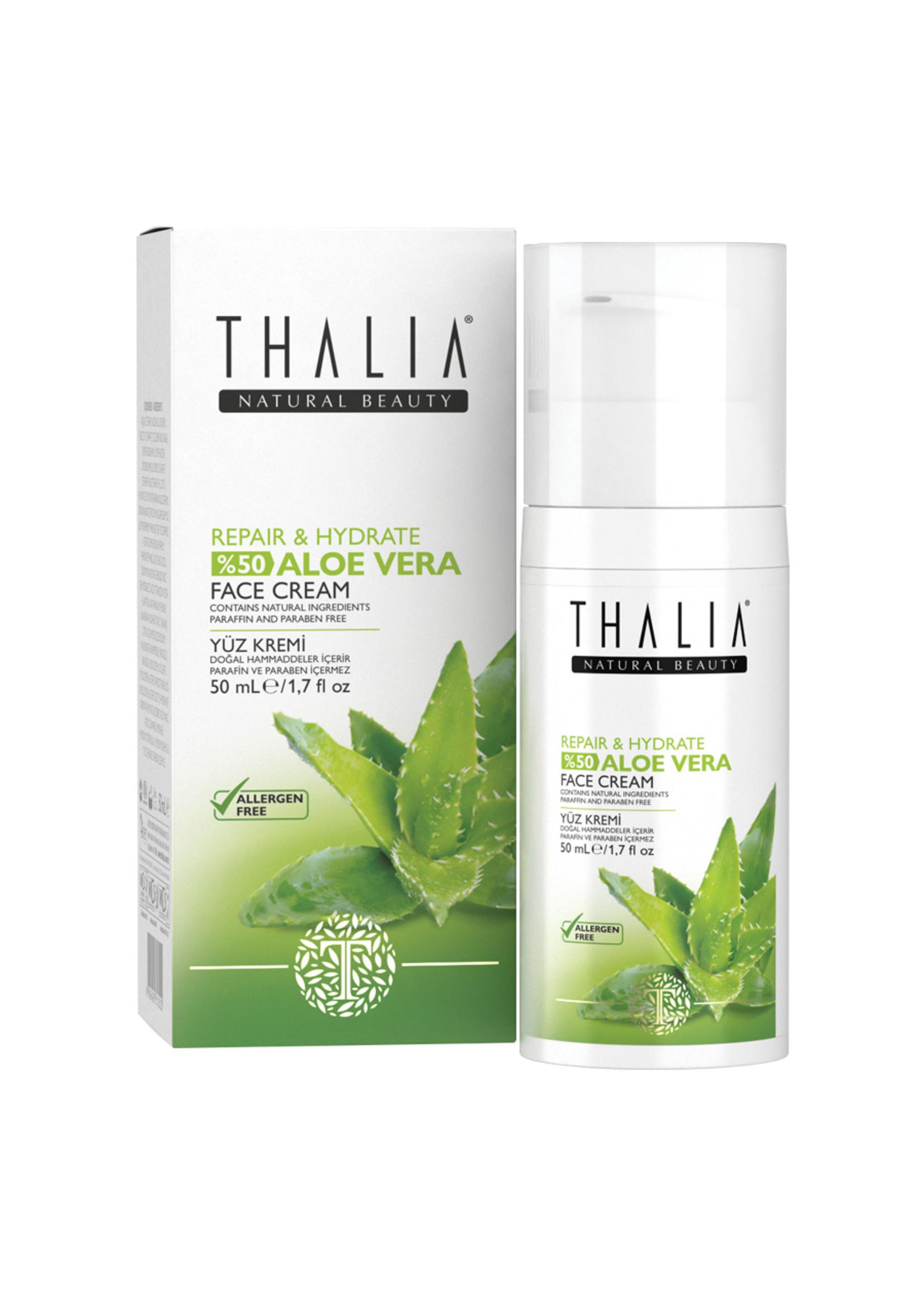 Thalia Aloe Vera Gezichtscreme (SPF 15) 50 ml