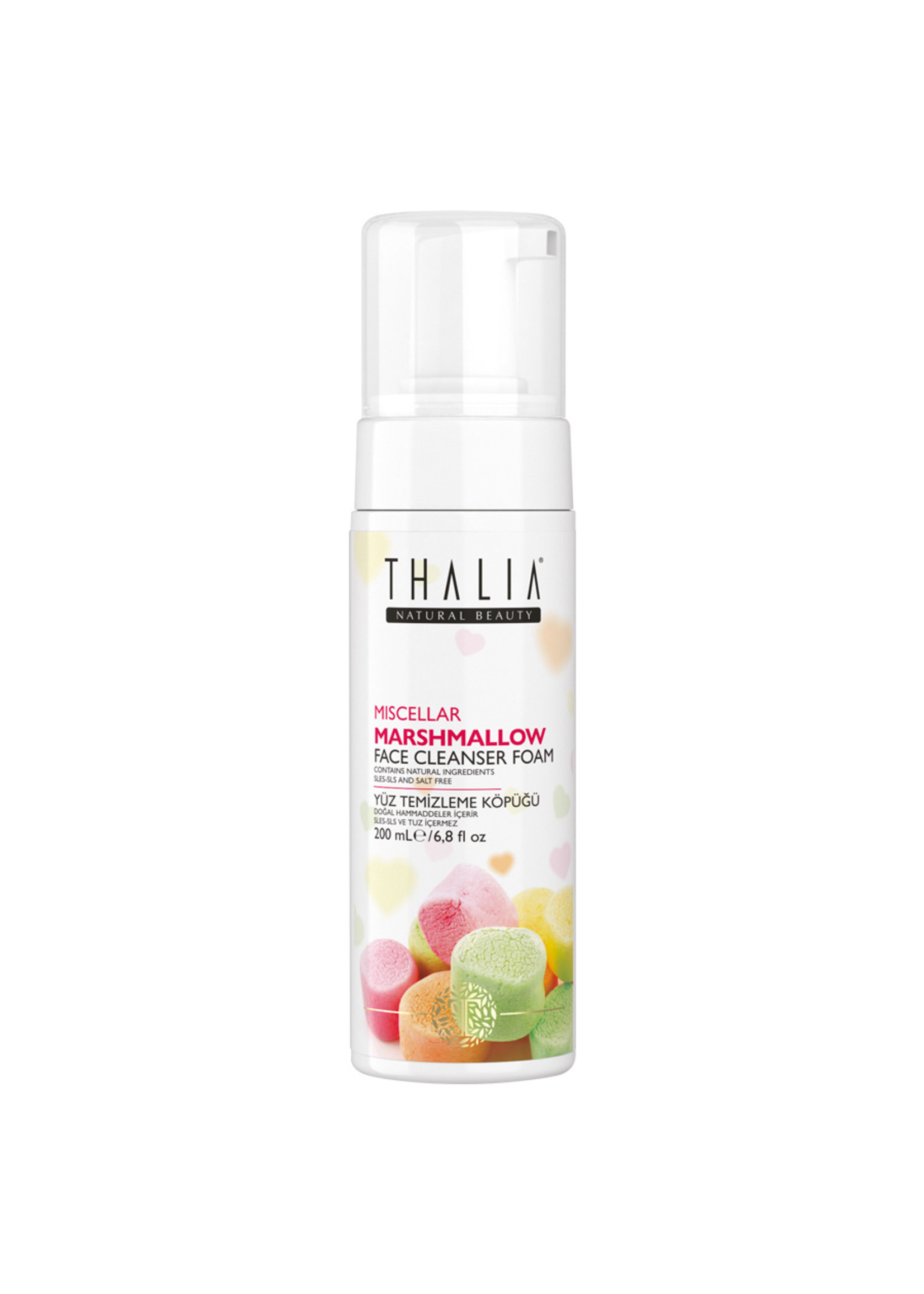 Thalia Marshmallow Gezichtsreiniger Foam 200 ml
