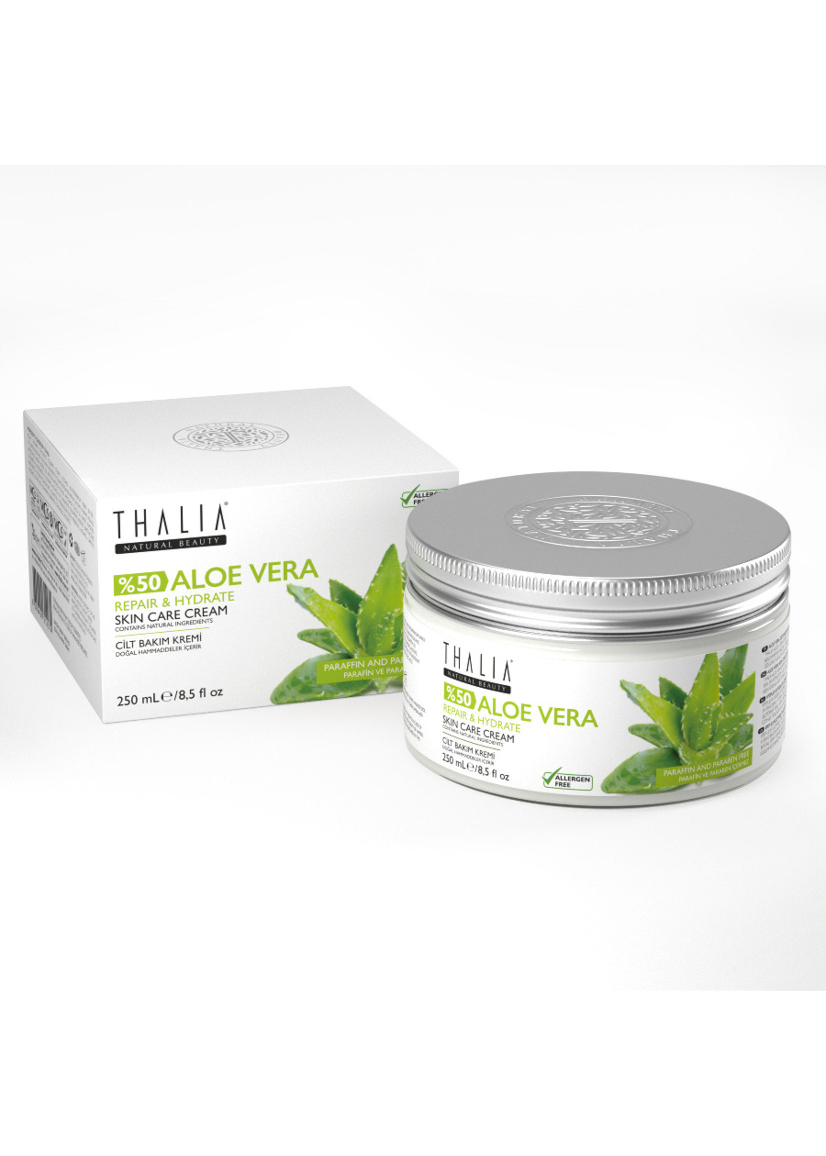 Thalia Aloe Vera Skin Care Cream - 250 ml