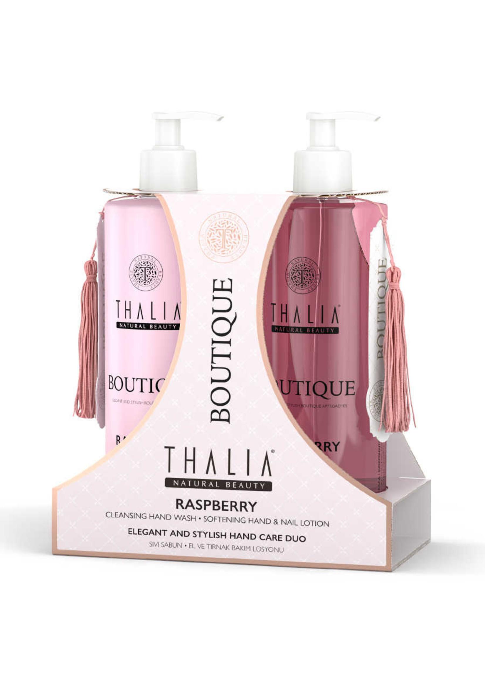 Thalia Duo Care Framboos Handverzorgingsset - 2x 400 ml