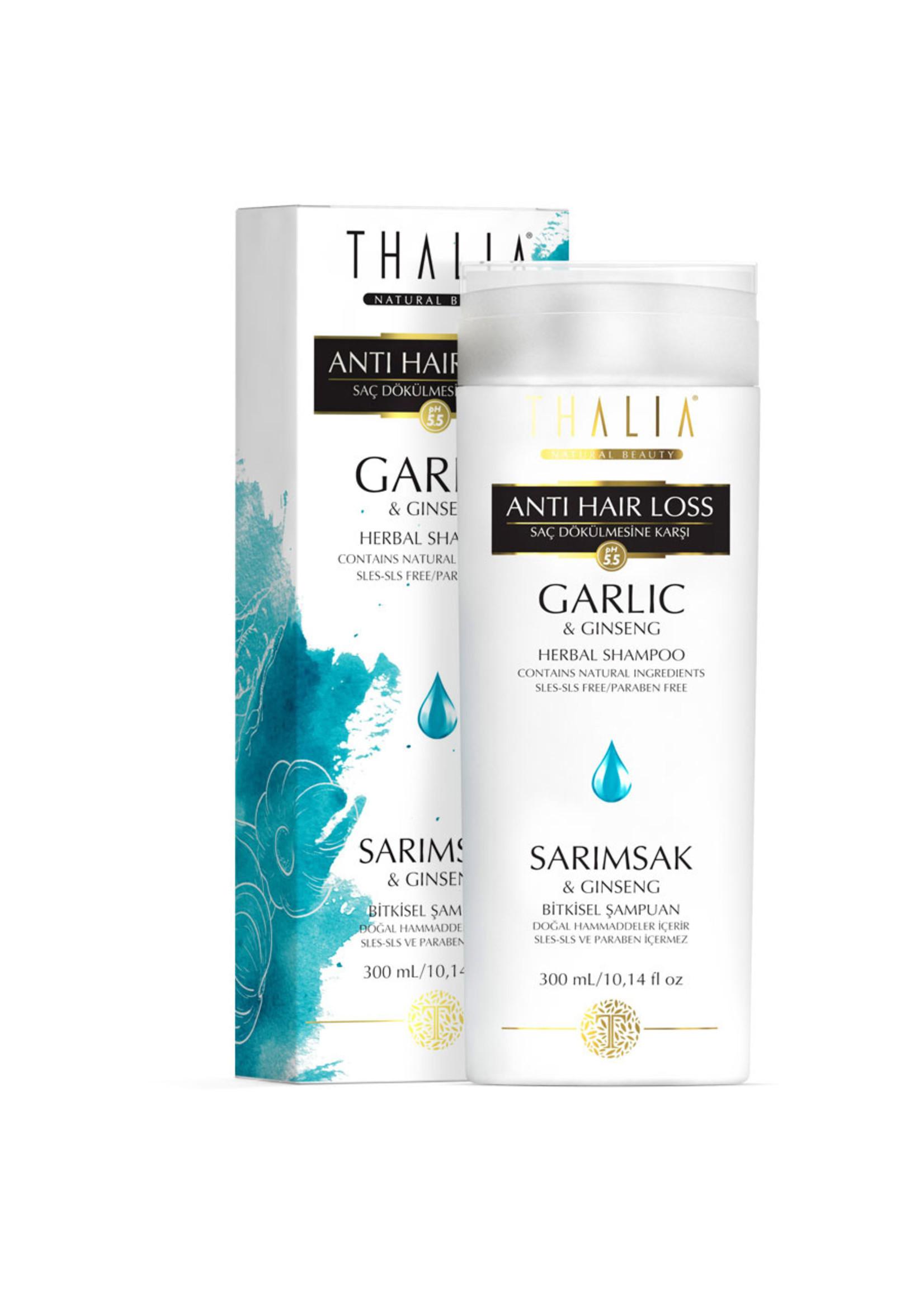 Thalia Sarımsak ve Ginseng Özlü Saç Dökülmesine Karşı Etkili Şampuan - 300 ml