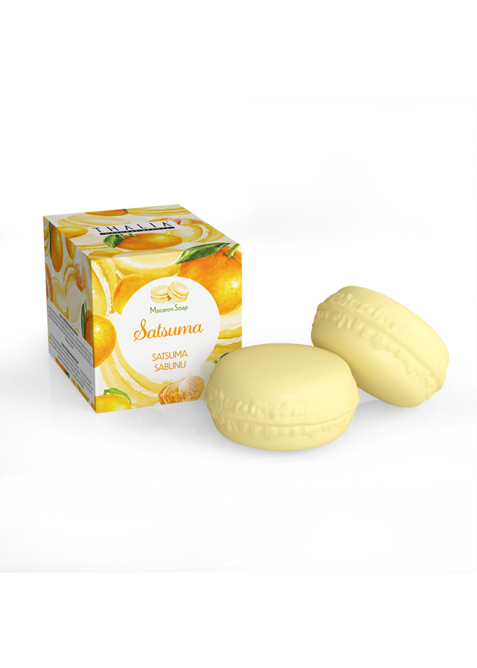 Thalia Satsuma Macaron Zeep 100 gr