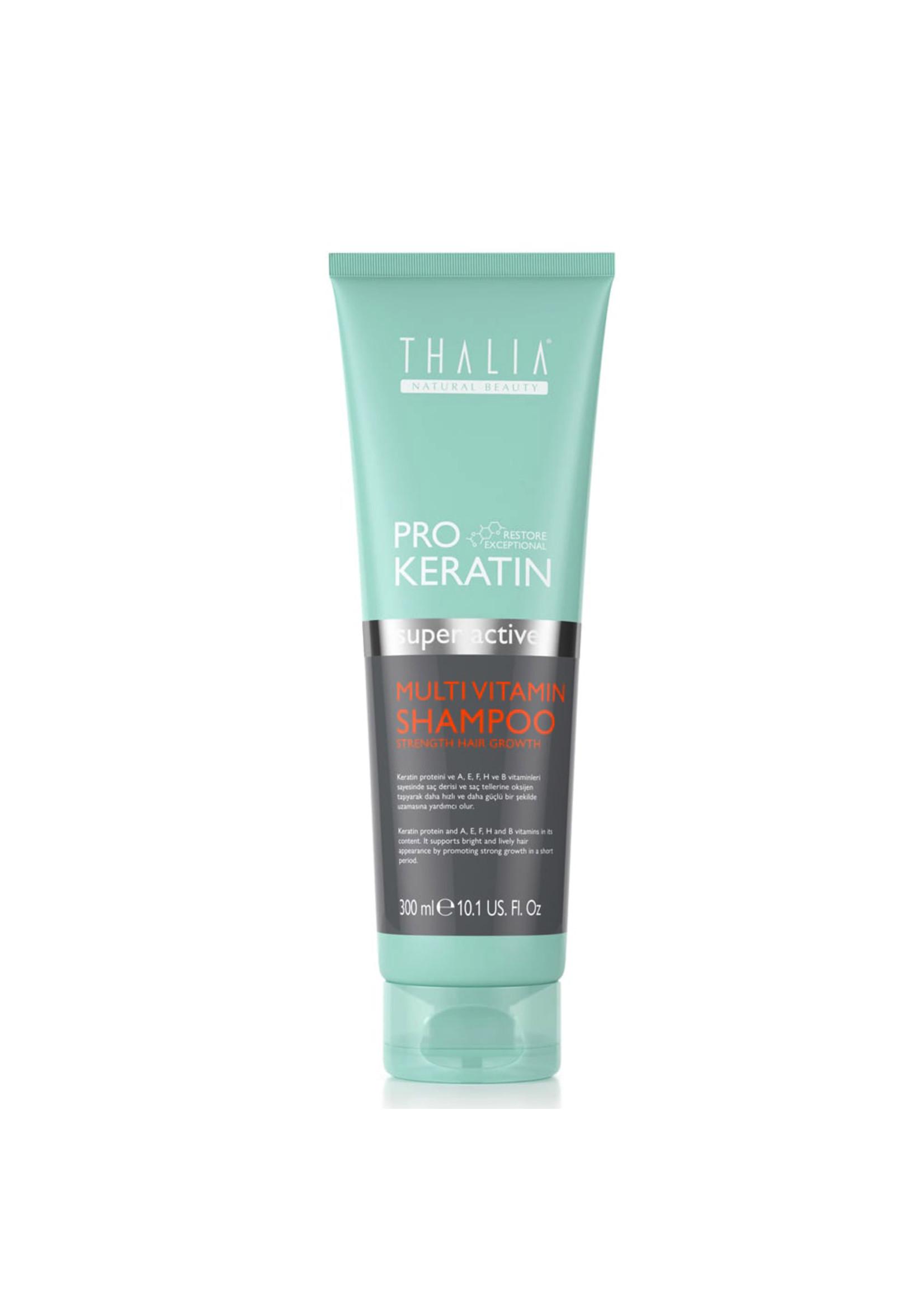 ThaliaPro Keratin Multivitamin Şampuan - 300 ml