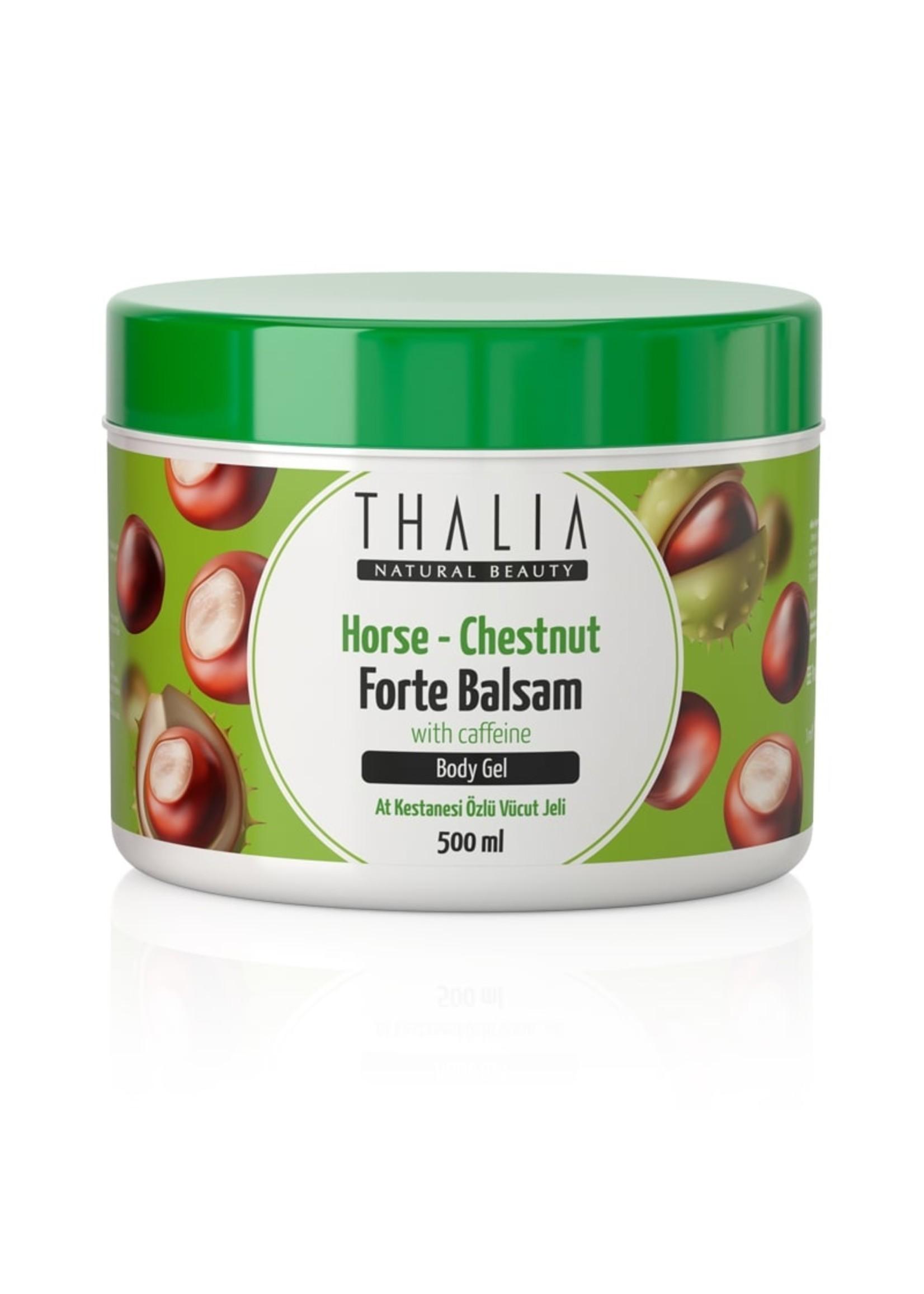 Thalia Paardenkastanje & Cafeïne Massagegel Forte Balsem - 500 ml