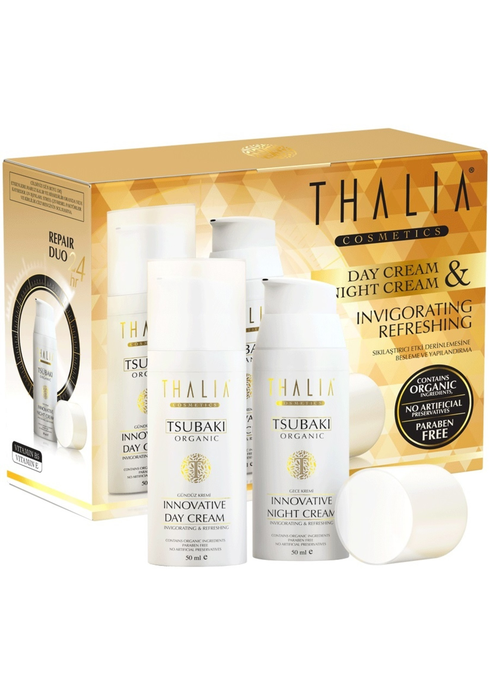 Thalia Tsubaki Dag en Nacht Crème 2x 50 ml