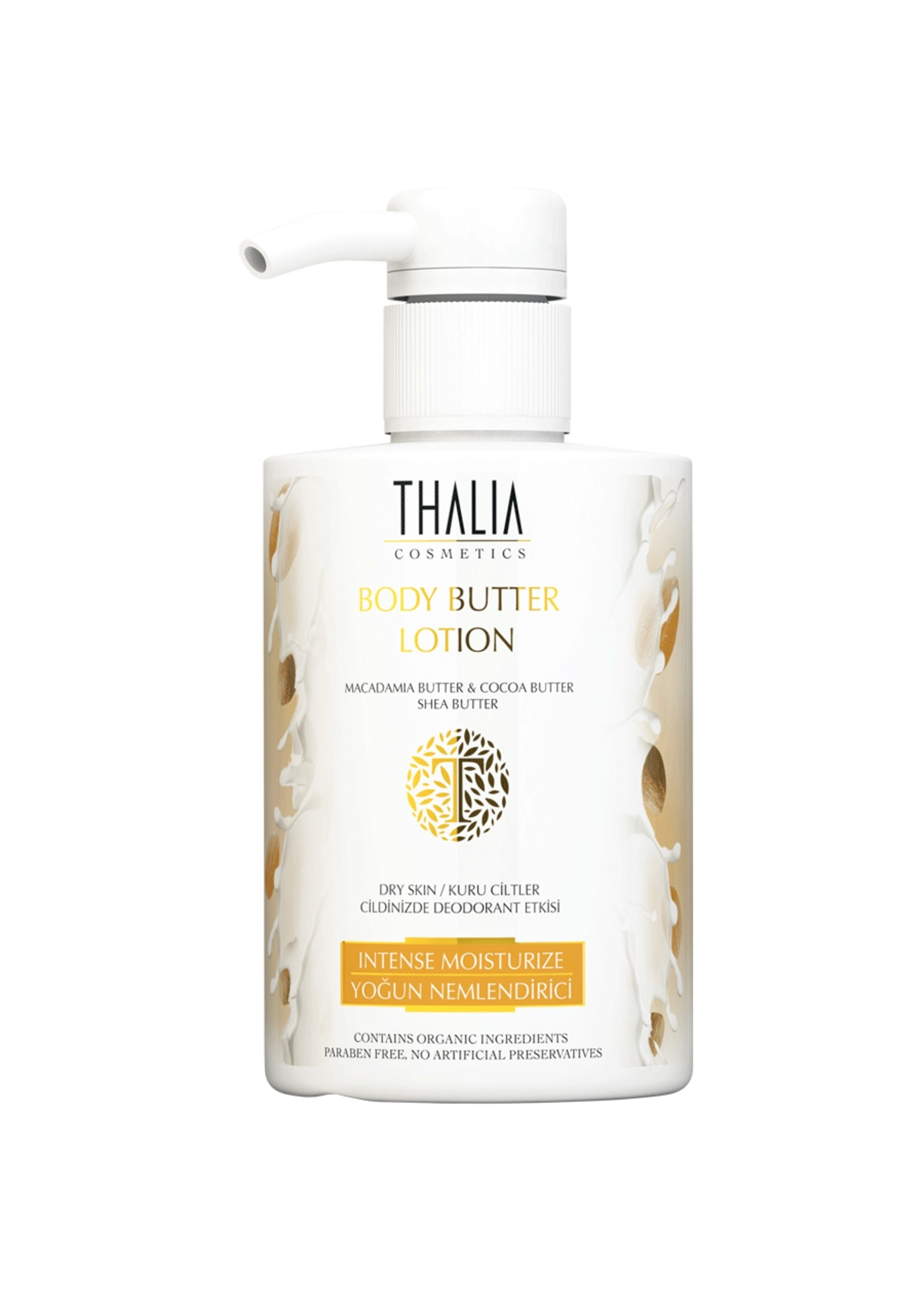 Thalia Macadamia Body Butter Lotion 300 ml
