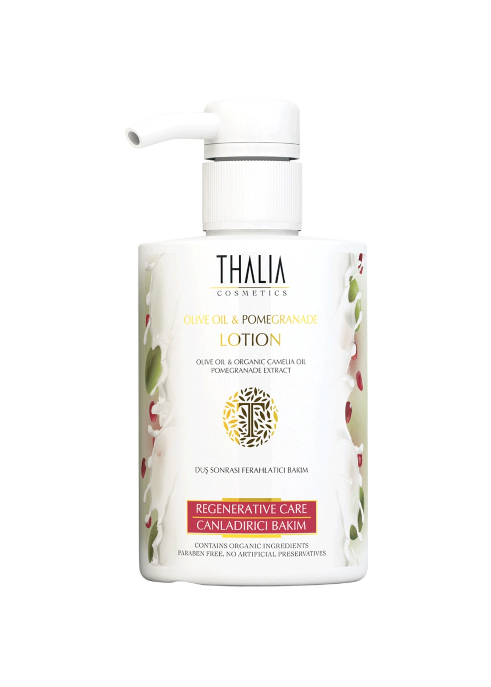 Thalia Olijfolie en Granaatappel Lotion 300 ml