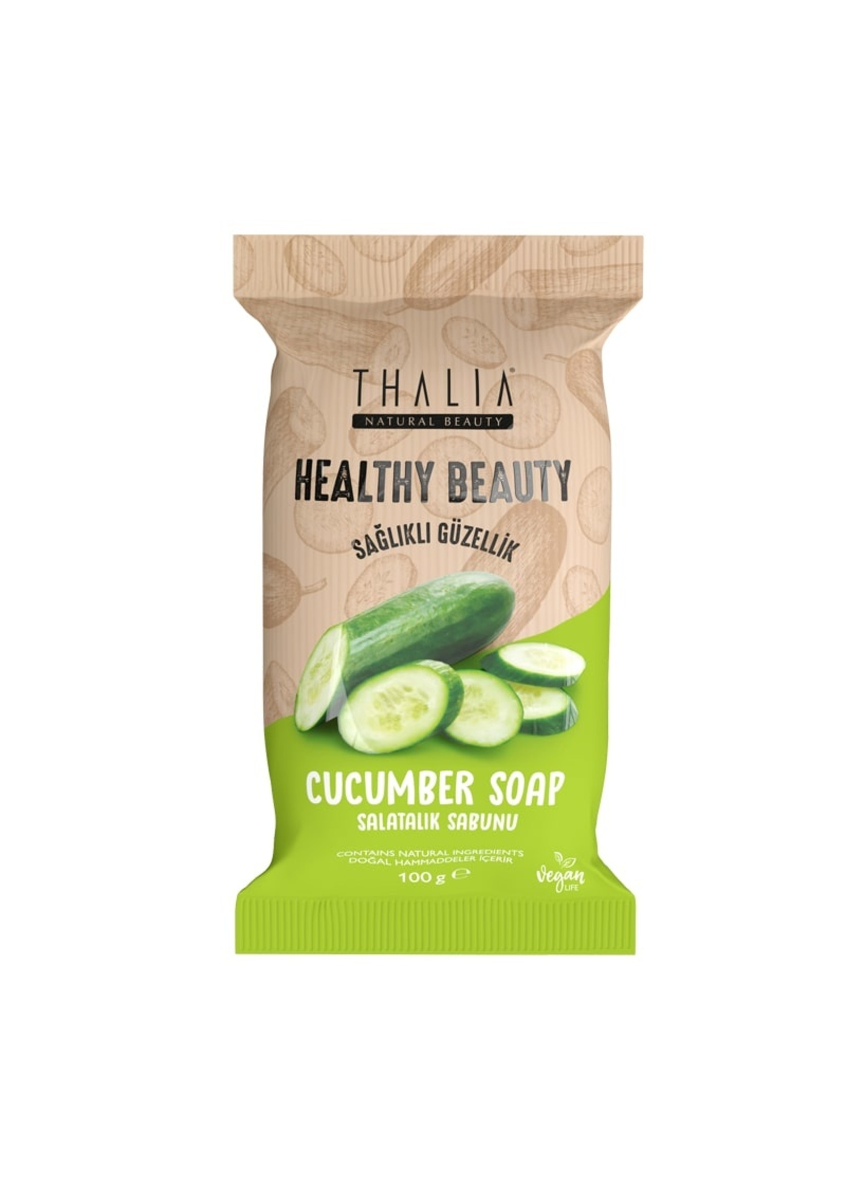 Thalia Healthy & Beauty Komkommerzeep - 100 gr