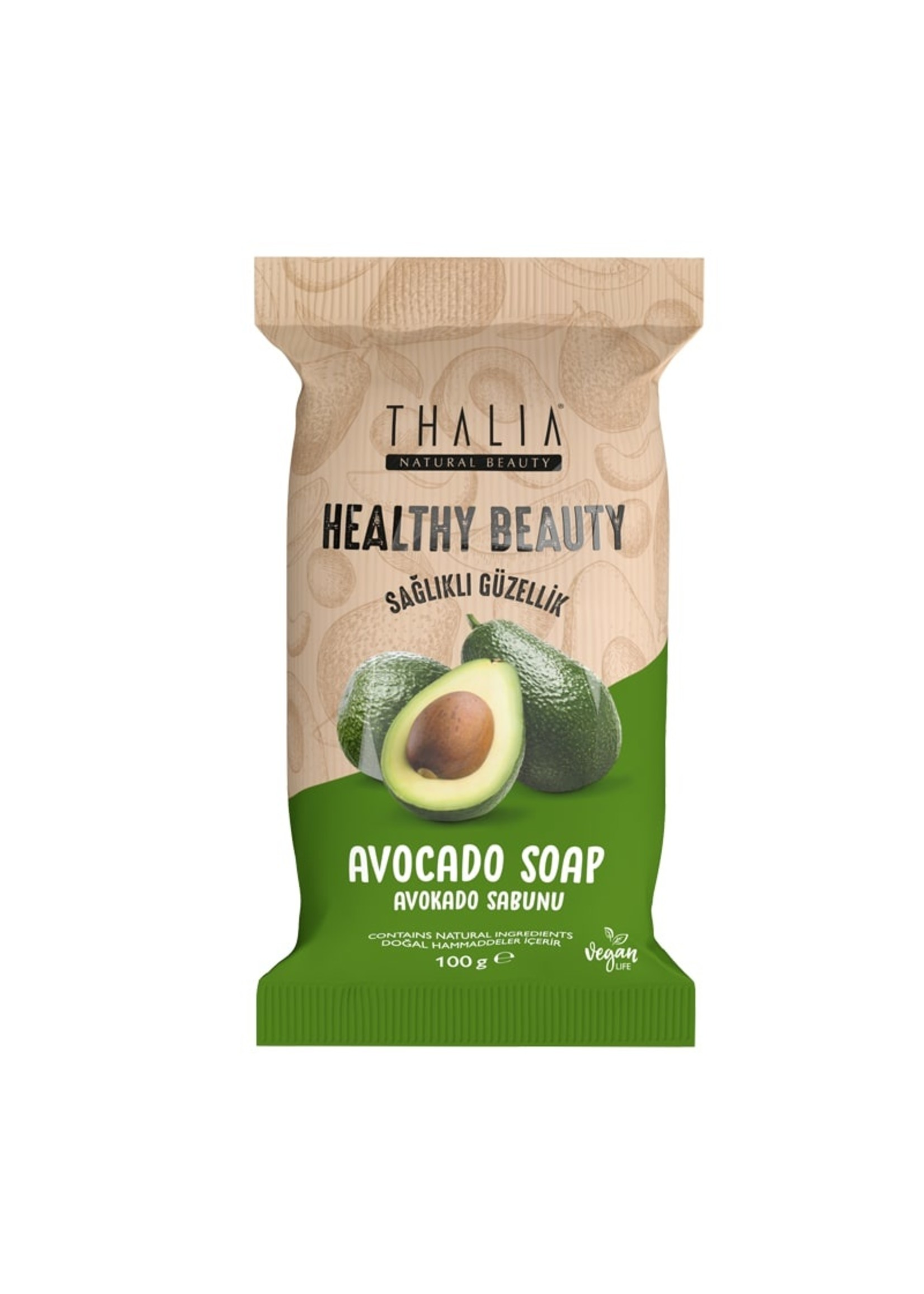 Thalia Healthy&Beauty Avokado Sabunu - 100 gr