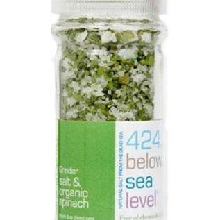 424 Below Sealevel - Zeezout met Biologische Spinazie