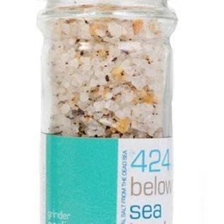 424 Below Sealevel - Zeezout met knoflook en peper - 100gr