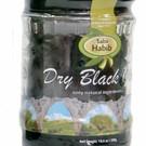 Heerlijke zwarte gedroogde olijven