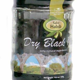 Heerlijke zwarte gedroogde olijven - 300 gr