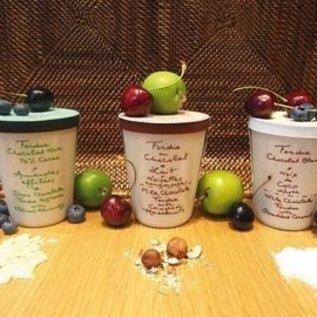 Aux Anysetiers du Roy Chocoladefondue Melk & Caramel met Fleur de Sel