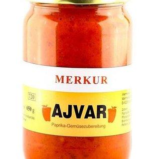 Merkur Ajvar mild Merkur 650g/720ml