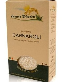 Cascina Belvedere Carnaroli, extra, ideal für Risotto, nachsichtiger als Arborio