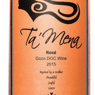 Ta'Mena 2015 Rose DOC wine