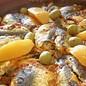 Zohra Olives Zitrone mit Salz und Wasser eingelegt